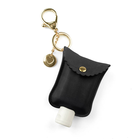 Black Hand Sanitizer Charm