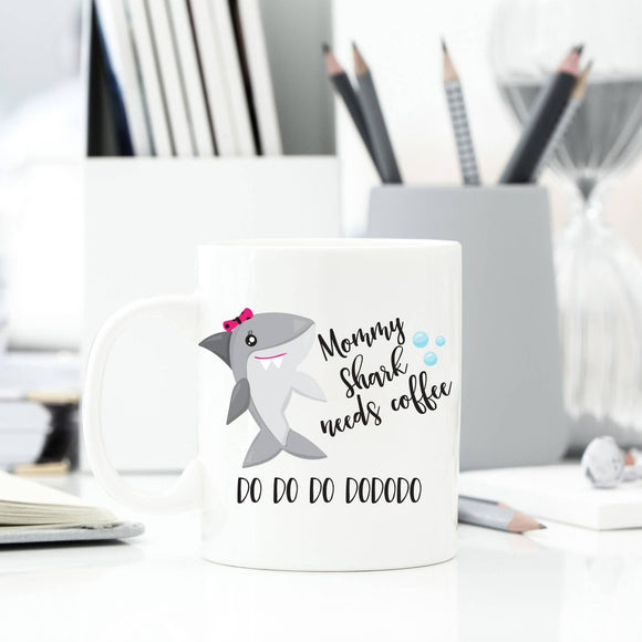 Bookoo babies Momma Shark Coffee Mug