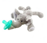 Bookoo Babies Plush Toy Pacifiers Elephant