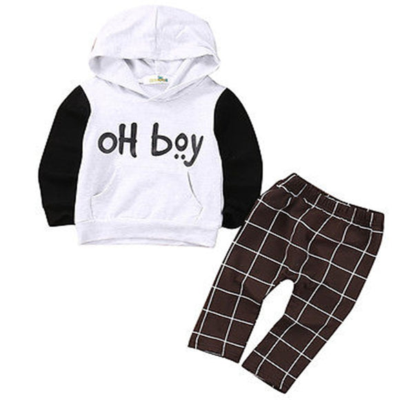 Bookoo Babies Oh Boy Cotton Blend Outfit