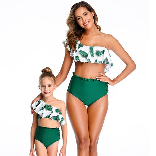 Bookoo Babies Mommy & Me Till Sundown Ruffle Bikini Swimwear
