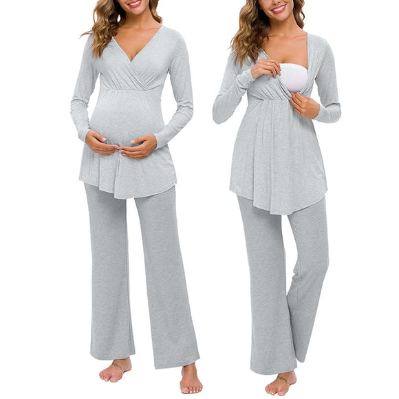 Bookoo Momma All Day Maternity Pajamas