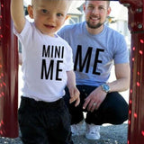 Bookoo Babies Daddy & Me Mini Me Cotton Blend Tee