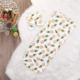 Bookoo Babies Pineapple Cocoon Swaddle + Headwrap