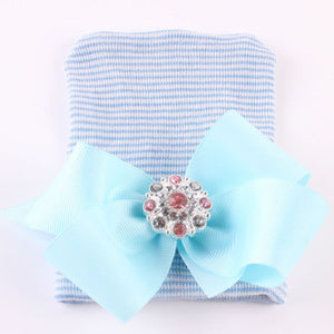 Bookoo Babies Newborn Bling Bow Beanie