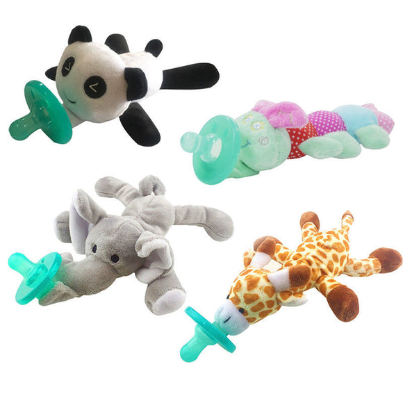 Bookoo Babies Plush Toy Pacifiers