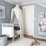 Bookoo Babies Lace Trim Canopy Curtain