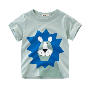 Bookoo Babies Trip To The Zoo Cotton Blend Graphic Tees