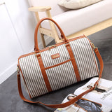 Bookoo Babies Kidman Striped Duffle Bag