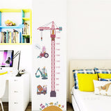 Bookoo Babies Construction Crane Growth Chart