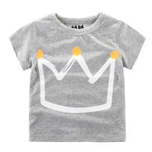 Bookoo Babies Crown Cotton Blend Tees