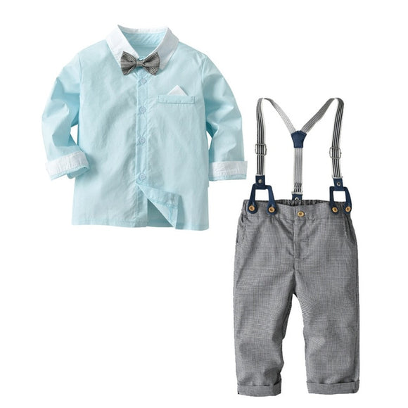Bookoo Babies So Fresh + So Clean Semi-Formal Outfit - Light Blue
