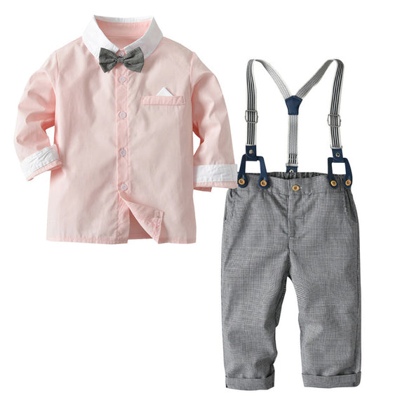 Bookoo Babies So Fresh + So Clean Semi-Formal Outfit - Light Coral
