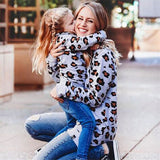 Bookoo Babies Mommy & Me Leopard Print Long Sleeve Top