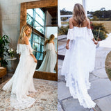 Bookoo Momma Forever In Love Maternity Lace Maxi Dress
