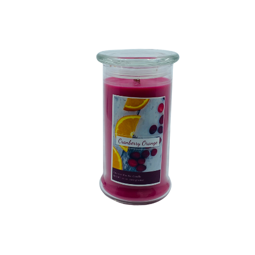 20 oz Jar Candle, Cranberry orange