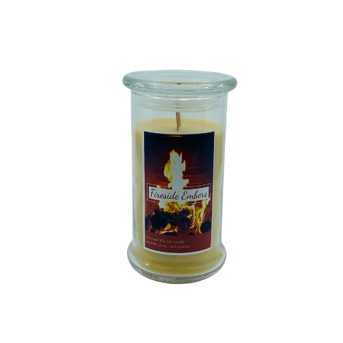 20 oz Jar Candle, Fireside