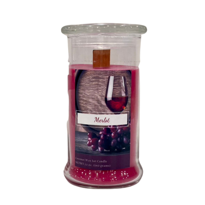 20 oz Jar Candle, Merlot
