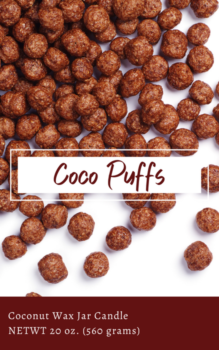 Coconut Wax Melts, Coco Puffs