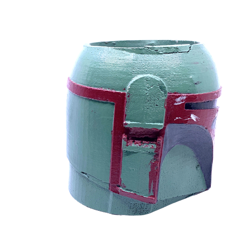 Boba Fett Large flower pot