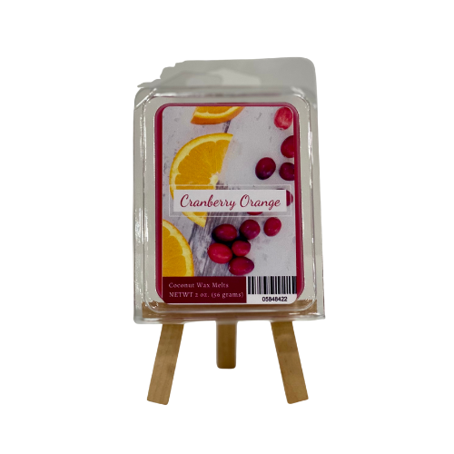 Wax Melts 2oz, Cranberry orange