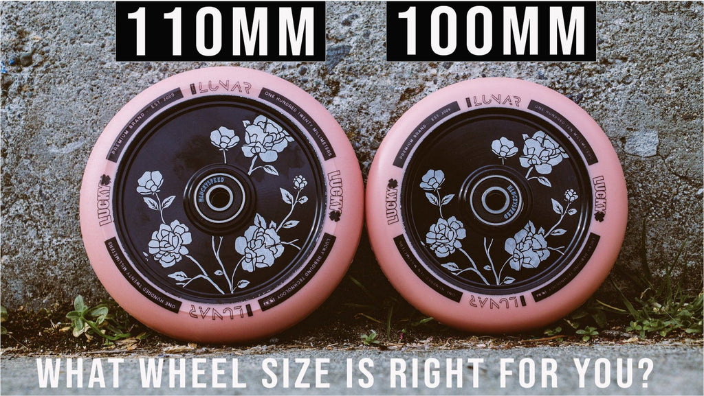 110mm VS 100mm Pro Scooter Wheels