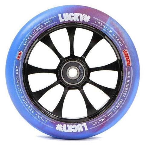 Lucky Toaster Wheel - 120mm Parts Lucky Blue / Red