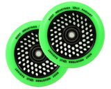 "Root Industries ""Radiant"" Honeycore Wheels - 120mm Parts Root Industries Green"