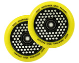 "Root Industries ""Radiant"" Honeycore Wheels - 120mm Parts Root Industries Yellow"