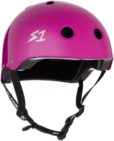 S1 Lifer Helmet - Bright Purple Gloss Safety Gear S1 XS