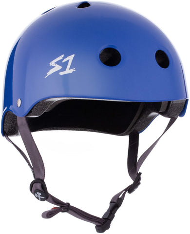 S1 Lifer Helmet - LA Blue Gloss Safety Gear S1 XS