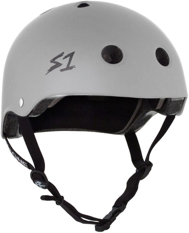 S1 Lifer Helmet - Light Gray Matte Safety Gear S1 XS