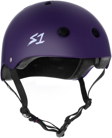S1 Lifer Helmet - Purple Matte Safety Gear S1 XS
