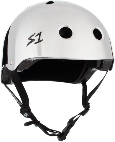 S1 Lifer Helmet - Silver Mirror Safety Gear S1 XS