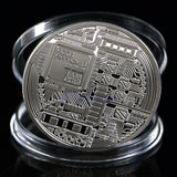 Silver Plated Bitcoin Collectible