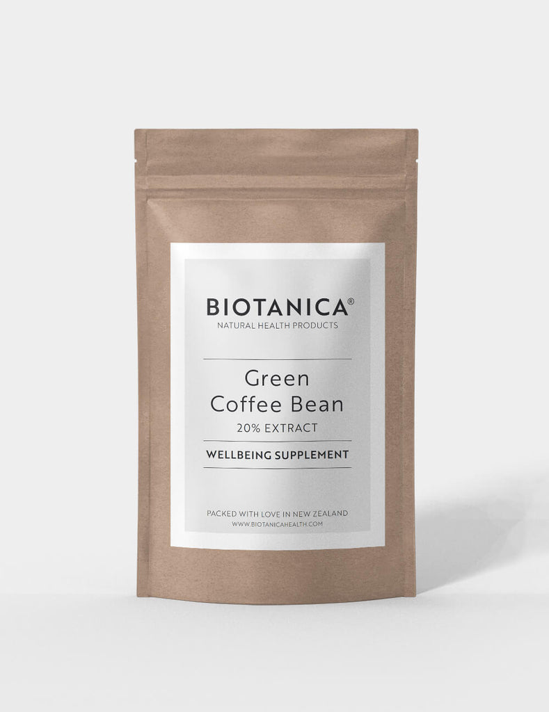 Biotanica, Green Coffee Bean, Premium Cholrogenic Extract