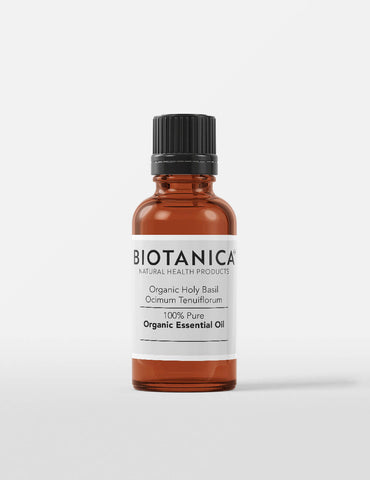 Image of Biotanica, Holy Basil, Premium Organic Essential Oil