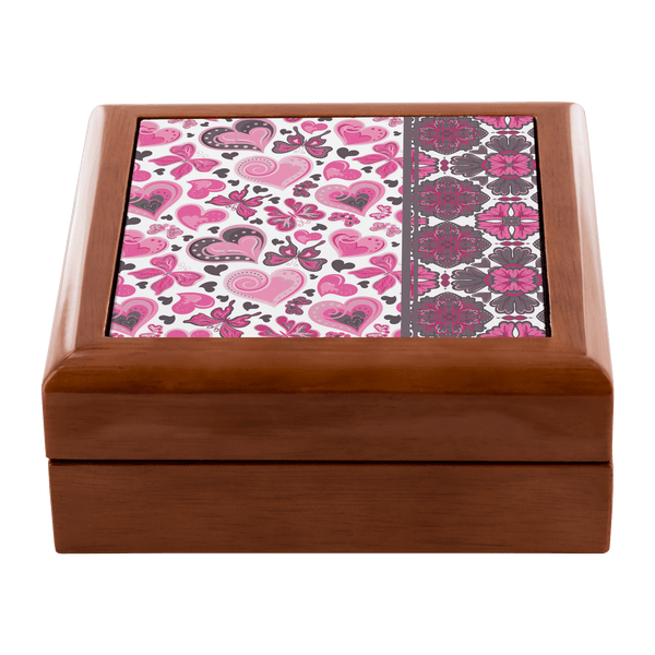 Limited Edition Wooden Jewelry Box