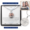 Follow Your Bliss Personalized Necklace (Dad)