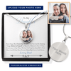 Believe In Yourself Personalized Necklace (Dad)