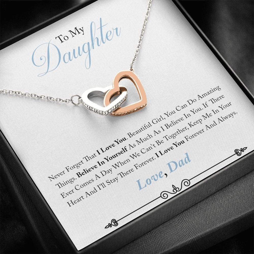 Believe In Yourself Necklace (Dad)