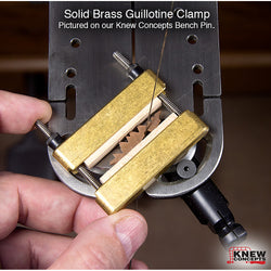 Knew Concepts Solid Brass Guillotine Clamps