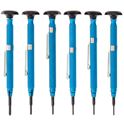 Moody Screw Extractor & Screw- driver, Mini, Aluminum, 6 Pc