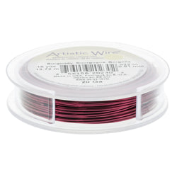 Artistic Wire Spool-20 Ga -burgundy