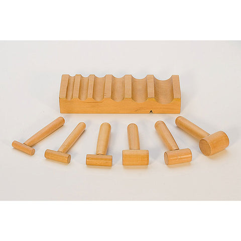 U-Channel (swage) Hardwood Block w/Hammer Punches