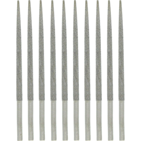 Reamer - Diamond, Straight, Shank Size 3mm, 10 Pc