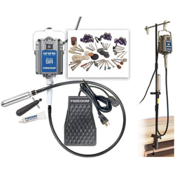 Foredom K.2273 General Applications Kit with MAMH-1 Bench Clamp Motor Hanger, 115v