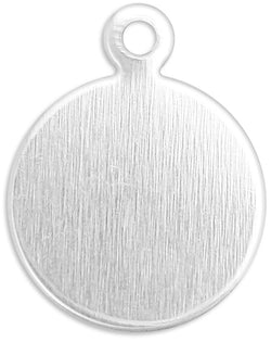 "ImpressArt - Small Circle Tag Aluminum 3/8"" (20pc)"