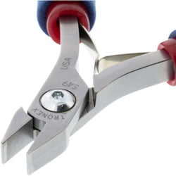 P549/P749 • Flat Nose Pliers - Chainmaille Stubby (Medium Duty)