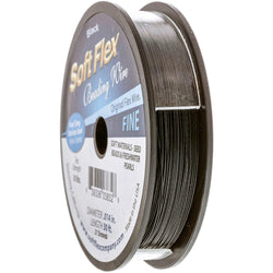 Soft Flex Wire .014 Dia. 30 Ft. 21 Strand Black Onyx